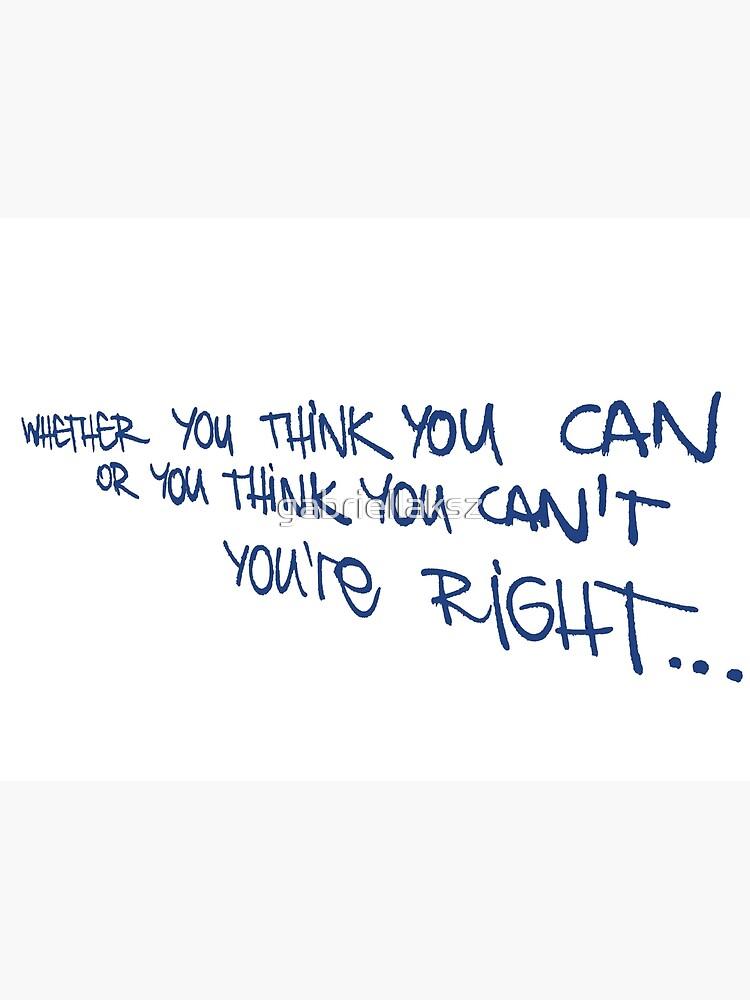 If you think... by gabriellaksz