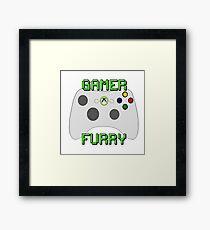 360 Gamer Fur Framed Print