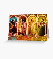 Joy Faith Hope & Love Greeting Card