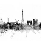 Europe Skyline Cityscapes by Michael Tompsett