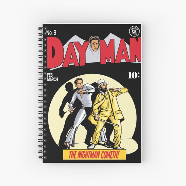 Dayman - The Nightman Cometh Spiral Notebook