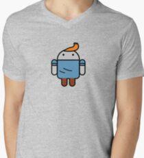 TinDroid Men's V-Neck T-Shirt