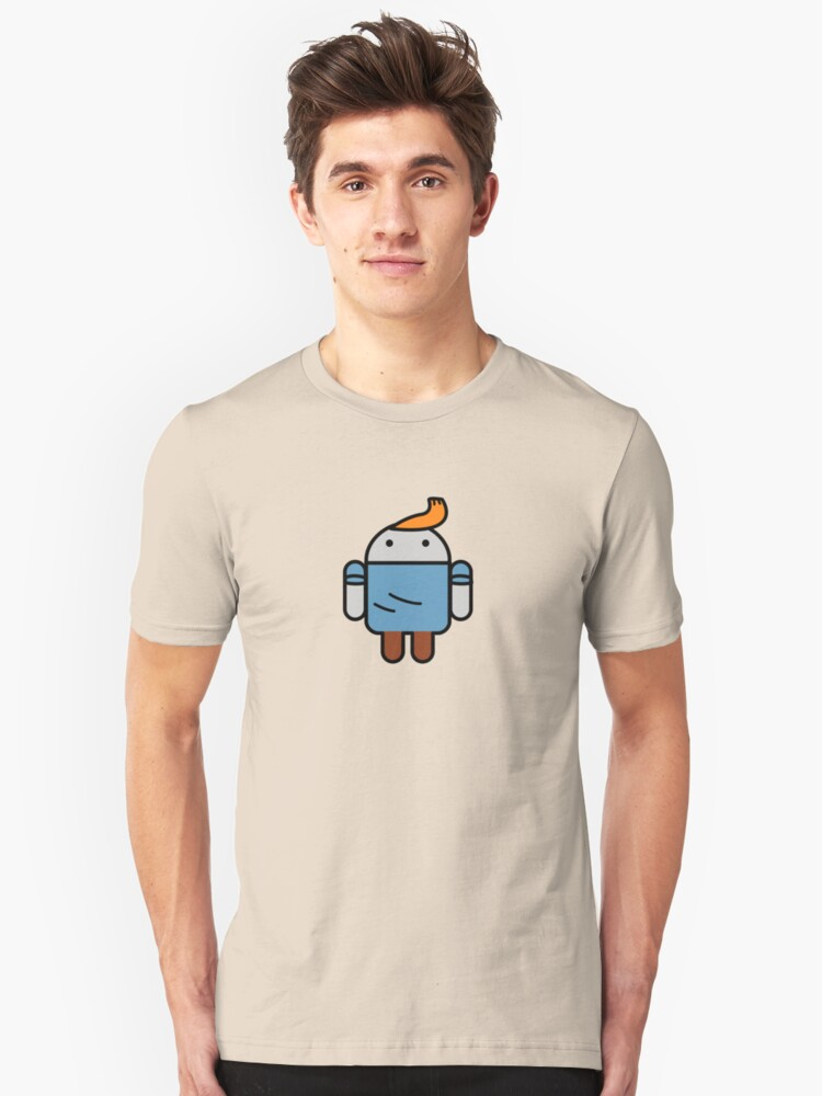 TinDroid Unisex T-Shirt Front