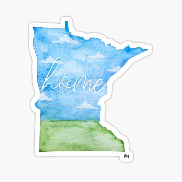 Minnesota Home State Sticker