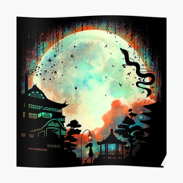 Thermal Moon Poster