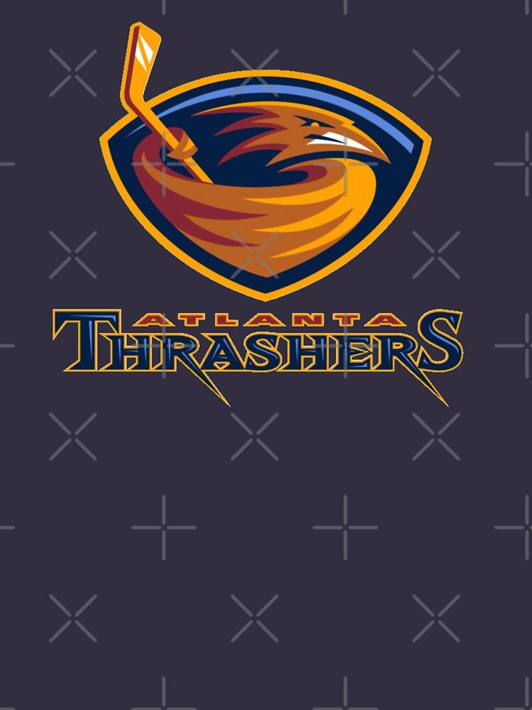 Vintage Atlanta Hockey - Retro Thrashers by TheSportsPage