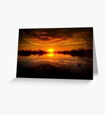Dreamy Sunset II Greeting Card