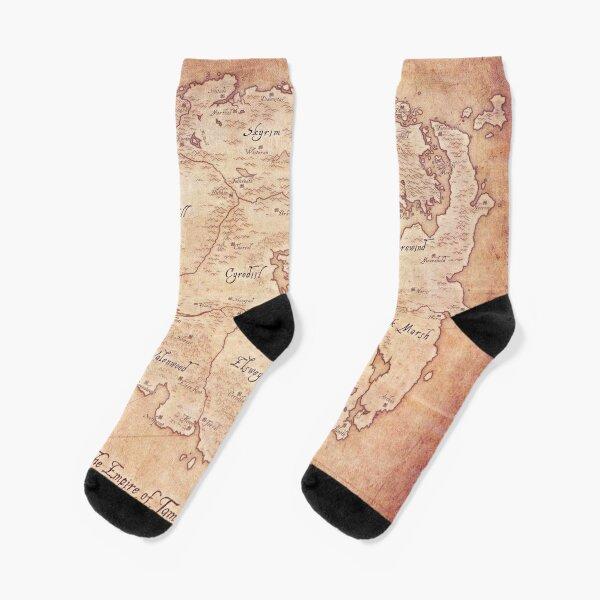 Polar bear elders Socks Mens Womens Casual Socks Custom Creative Crew Socks