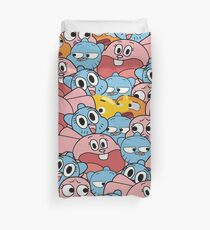 The Amazing World Of Gumball Wattersons Pattern Duvet Cover