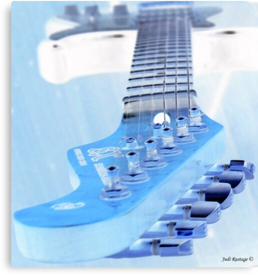 Ice Guitar by Judi Rustage