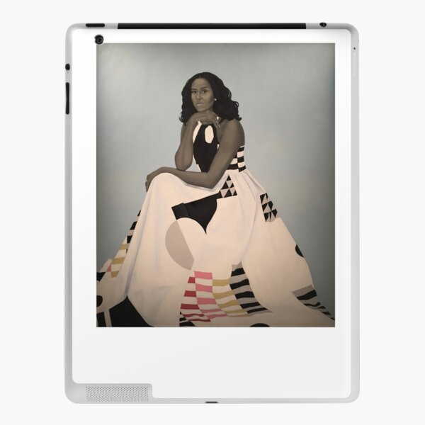 Unframed First Lady Michelle Obama Smithsonian's National Portrait Gallery iPad Skin