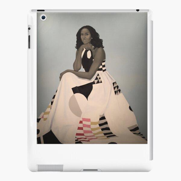 Ungerahmt First Lady Michelle Obama Smithsonians National Portrait Gallery iPad – Leichte Hülle