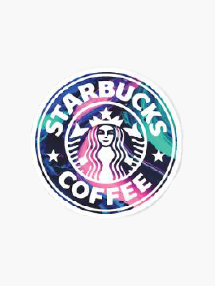 Rainbow Starbucks Logo by TheStickerPro