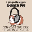 I Was a Research Guinea Pig by ninjaink