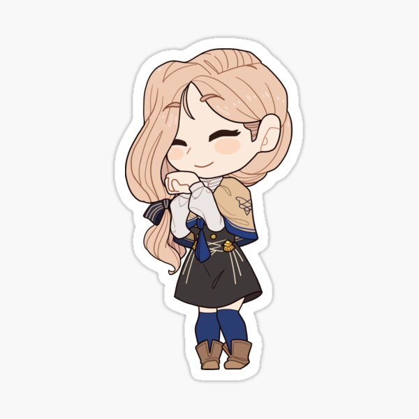 Fire Emblem Three Houses Mercedes Sticker