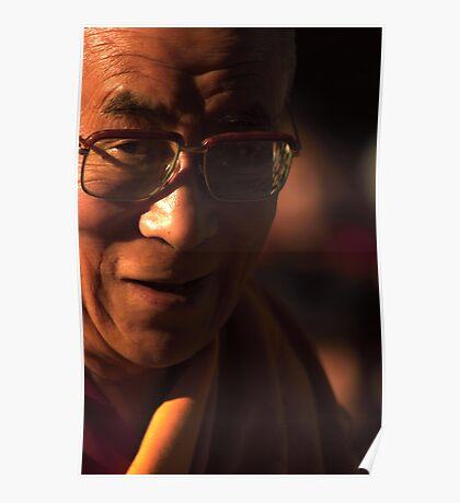 His Holiness. mcleod ganj, dharamsala, india Poster