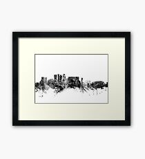 Cape Town South Africa Skyline Framed Print