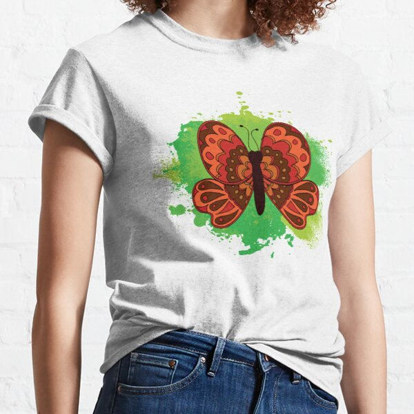 Butterfly In the Sky, I Can Fly Twice As High Classic T-Shirt