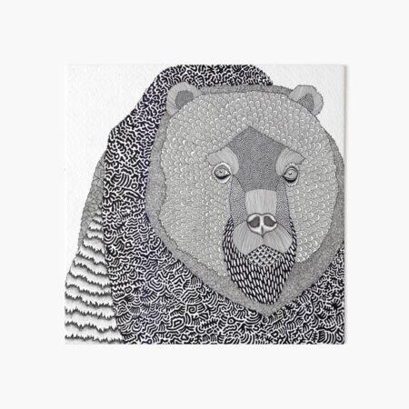 Where Bear Art Board Print