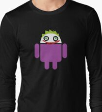 Jokeroid Long Sleeve T-Shirt