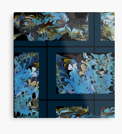 """Marbled Wall"" Metal Print"