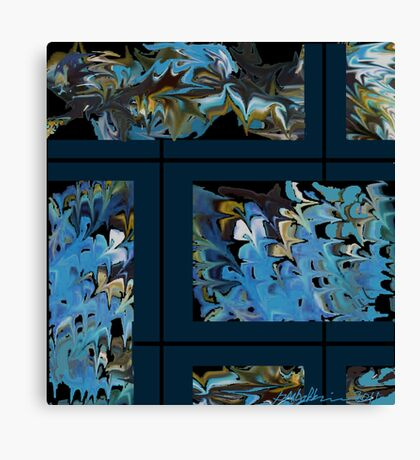 """""""Marbled Wall"""" Canvas Print"""