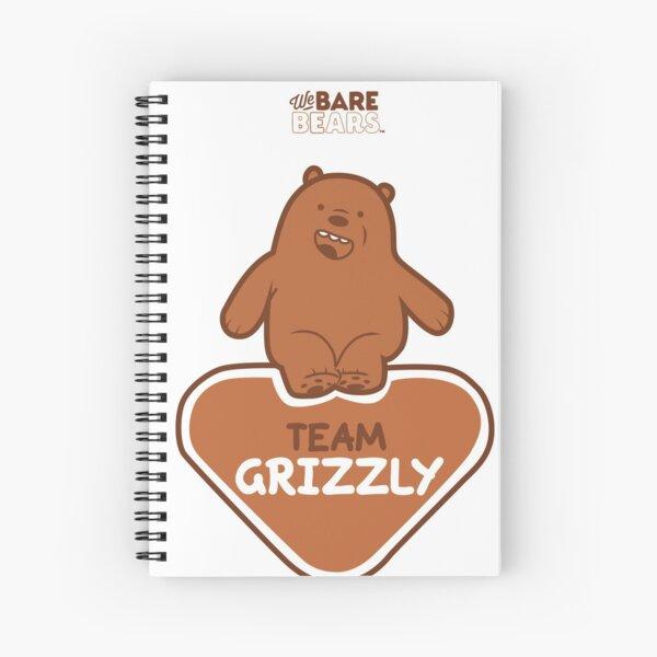 WE BARE BEARS™: TEAM GRIZZLY Cuaderno de espiral