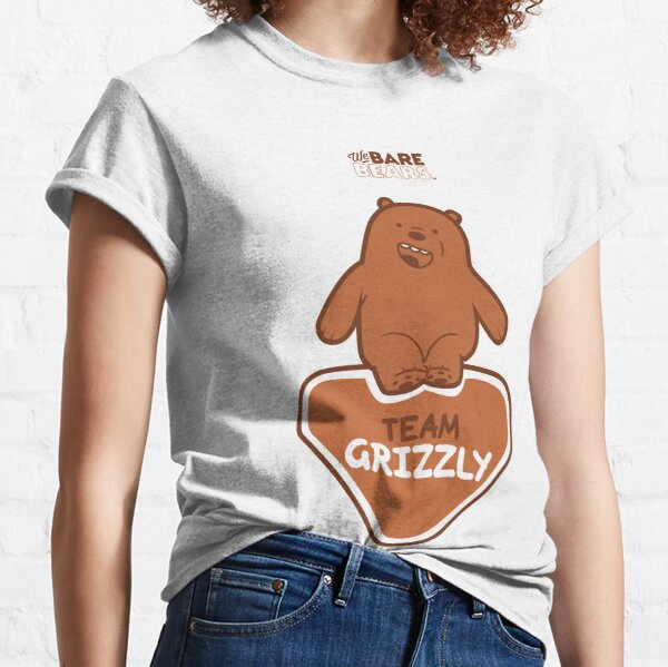 WE BARE BEARS™: TEAM GRIZZLY Camiseta clásica