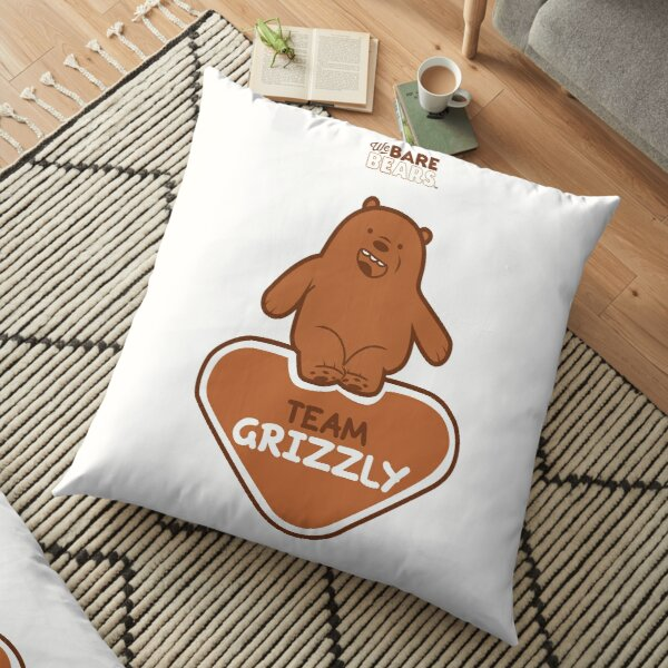 WE BARE BEARS™: TEAM GRIZZLY Cojines de suelo