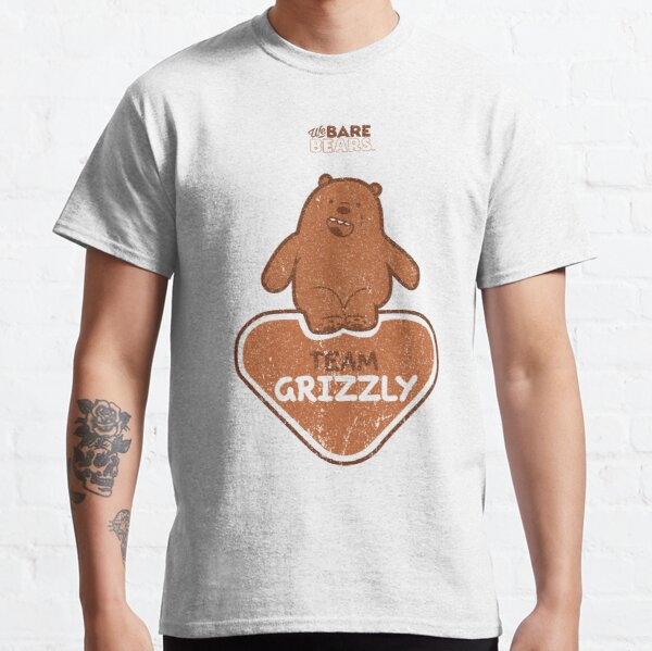 WE BARE BEARS™: TEAM GRIZZLY (GRUNGE STYLE) Camiseta clásica