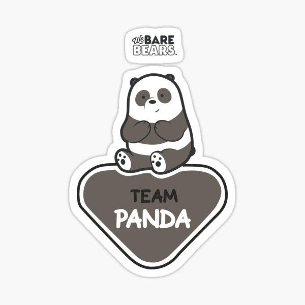 WE BARE BEARS™: TEAM PANDA Pegatina