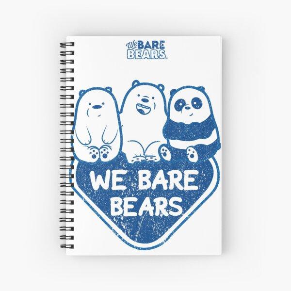 WE BARE BEARS™ (GRUNGE STYLE) Cuaderno de espiral
