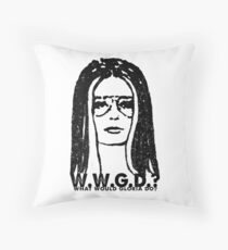 W.W.G.D.?: WHAT WOULD GLORIA DO? Throw Pillow