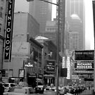 The Lights of Broadway by Graciela Maria Solano