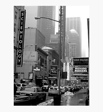 The Lights of Broadway Photographic Print