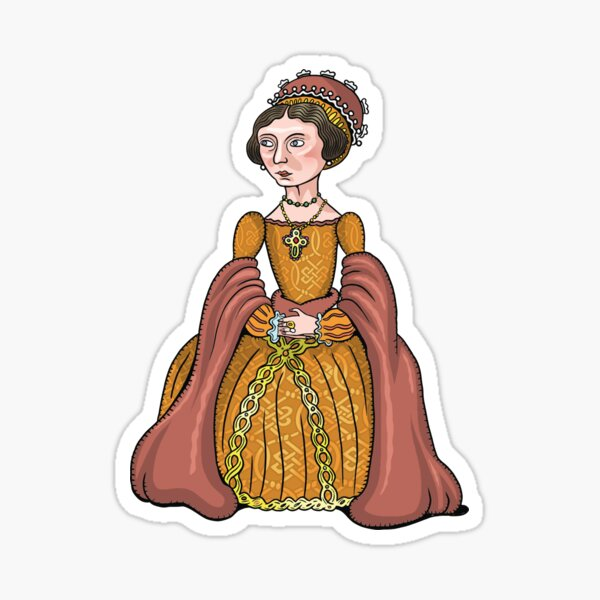 Lady Jane Grey Sticker