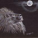 Leo Moon by BrandyHouse