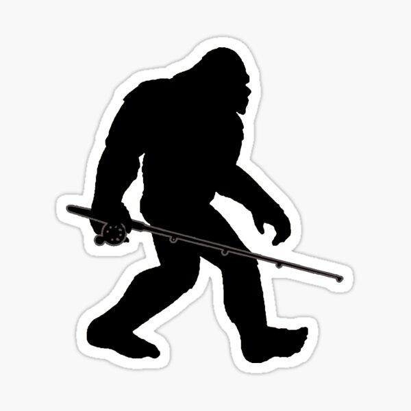 Bigfoot - Fly Fishing  Sticker