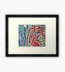 the deckhand Framed Print