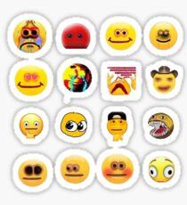 cursed emoji sticker pack Sticker