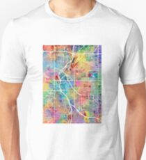Denver Colorado Street Map Unisex T-Shirt
