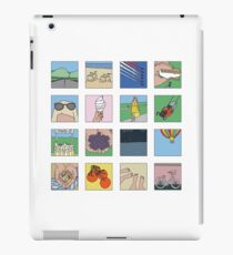 The happiest things about summer iPad Case/Skin