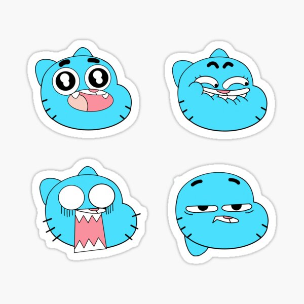 Gumball Watterson Expressions Sticker