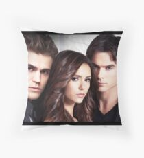 The Vampire Diaries Throw Pillow