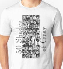50 Shades of Gray Fullbuster - black txt Unisex T-Shirt
