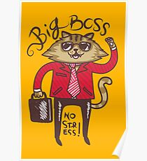 Big Boss - No Stress Poster