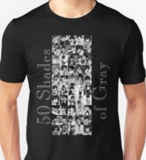 50 Shades of Gray Fullbuster - grey txt Unisex T-Shirt