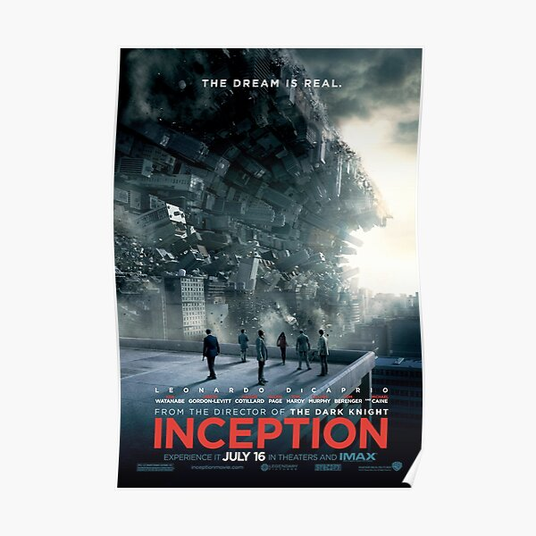 Affiche INCEPTION Poster