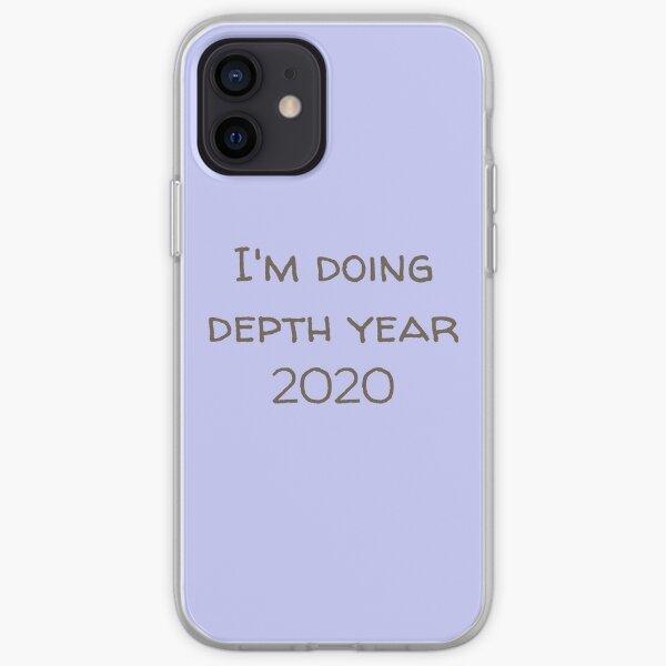 I'm doing depth year 2020 Dark version iPhone Soft Case