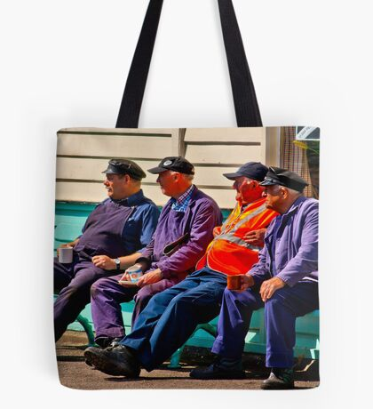 Everything Stops for Tea Tote Bag